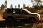 Toyota Land Cruiser in Sonora Gold Pearl