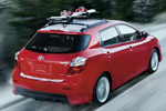 Red Toyota Matrix 2009