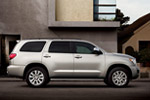 Toyota Sequoia Limited in Silver