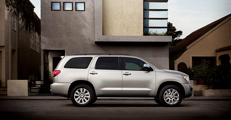 Another one of Toyota's best selling car models is the Toyota Sequoia.
