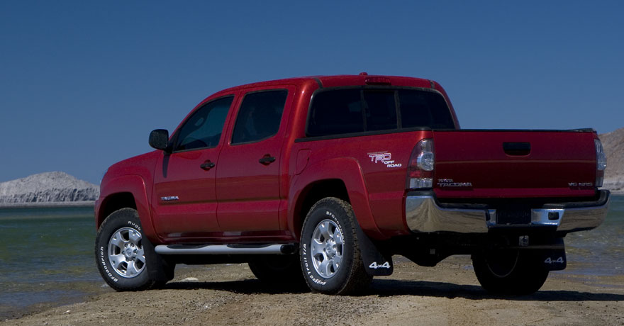 since 1995, the Toyota Tacoma is a compact pickup truck for truck