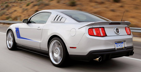 2010 Roush 427R Mustang back view