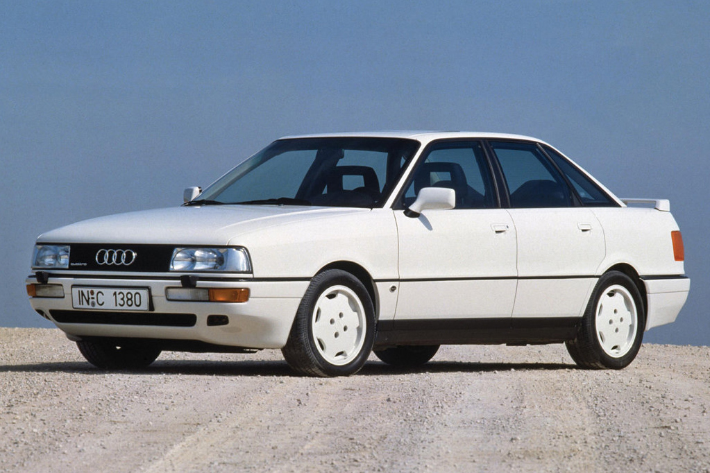 A new Audi 80 was released in September 1986