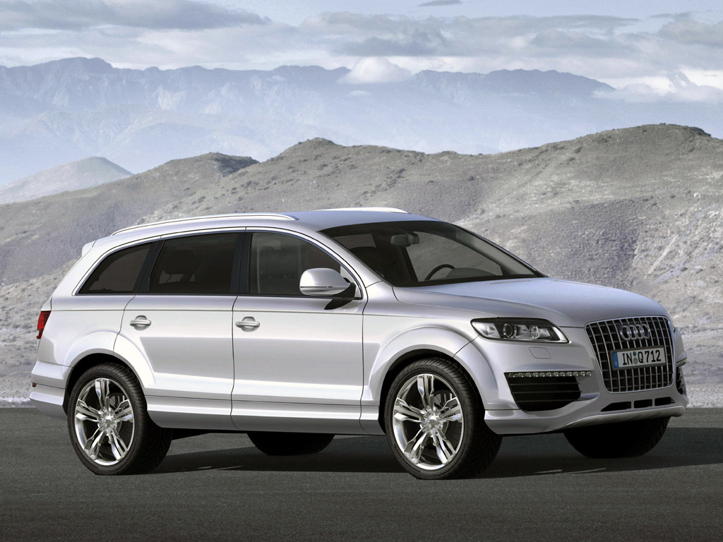 Audi Q7 V12 TDI Cool information