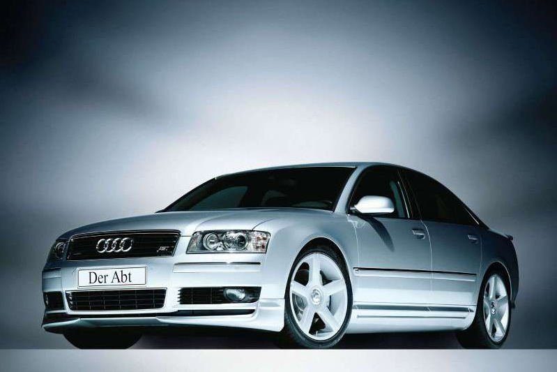 Audi S8 D2. The Audi S8 is known in the