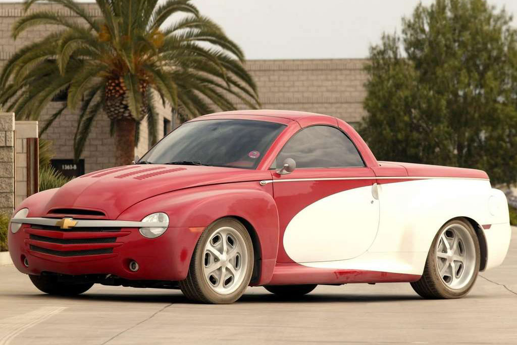 Chevrolet Ssr 2003. The Chevy SSR is a popular