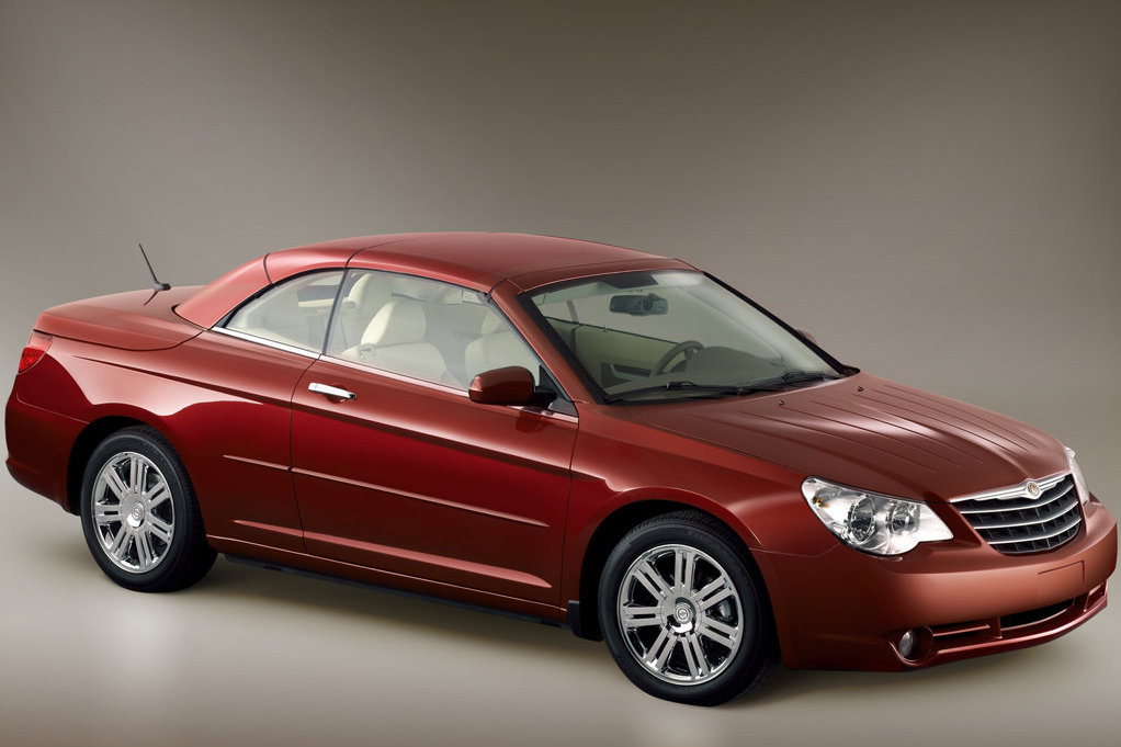 New chrysler sebring convertible