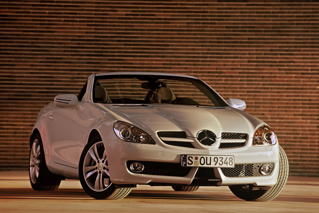 Mercedes Benz Slk 2009. The Mercedes Benz SLK-Class is