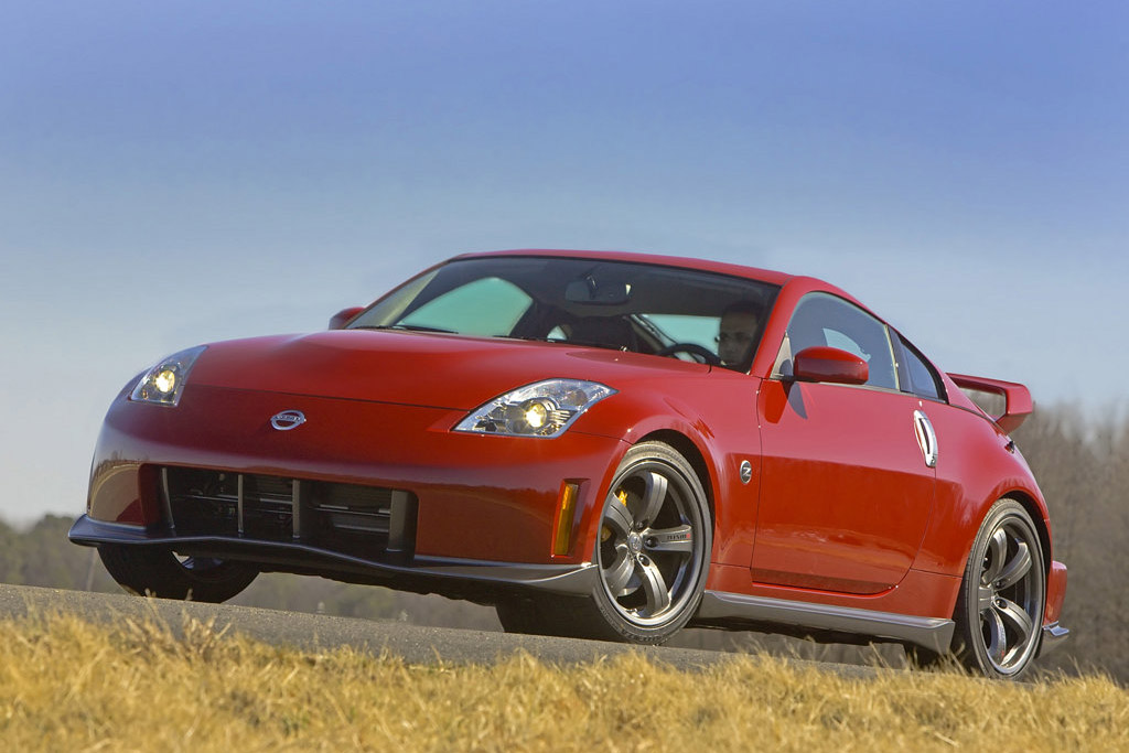 The Nissan 350Z was a fifth generation two-seater sports car manufactured by