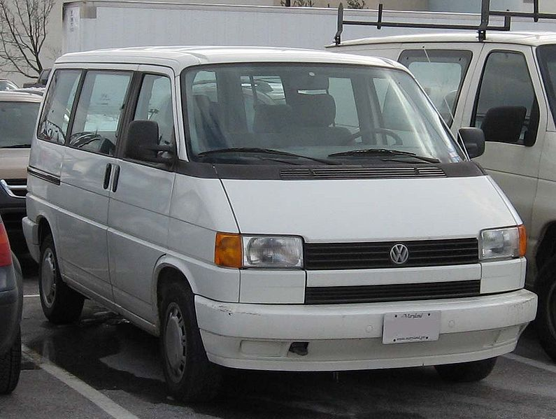 The Volkswagen EuroVan took the place of the Vanagon in 1993.