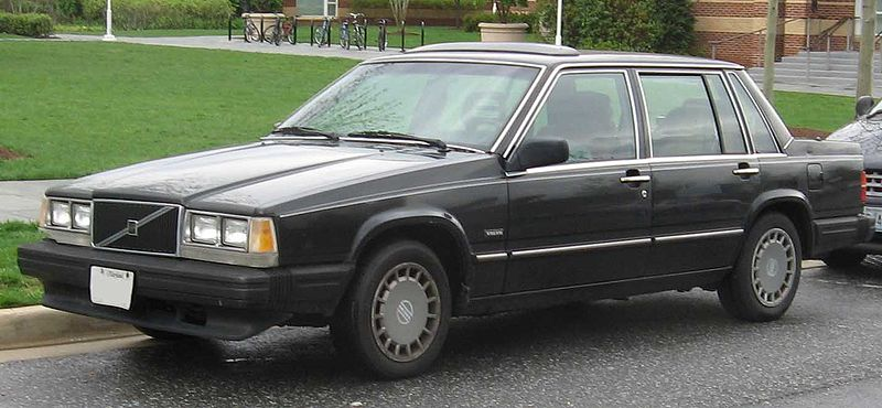 вольво 740 1993