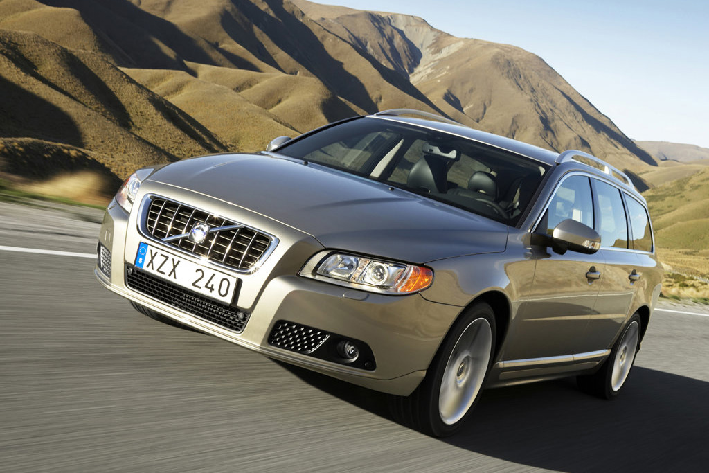 In the Volvo lineup, the V70