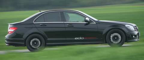 2009 Edo Competition Mercedes-Benz C63 AMG side view 480