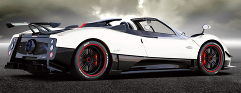 2009 Pagani Zonda Cinque Roadster side view