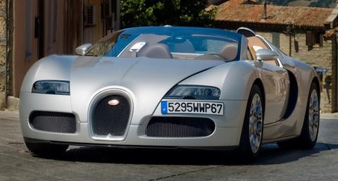Bugatti Veyron Grand Sport in Sardinia