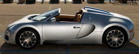 Bugatti Veyron Grand Sport Sardinia Side View