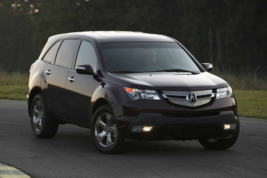 The Acura MDX was designed to suit the requirements of a large traveling