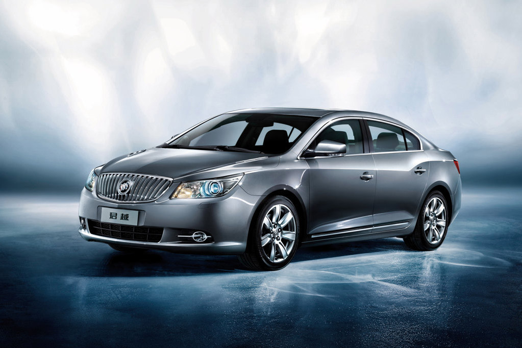 Buick LaCrosse Top Sedan 2010