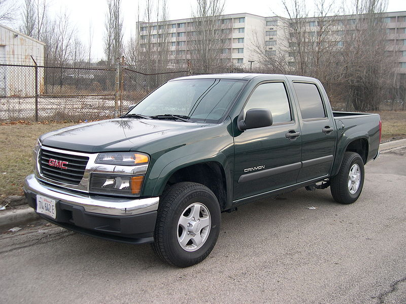 The GMC Canyon is a mid-size pickup truck launched by General Motors in 2004