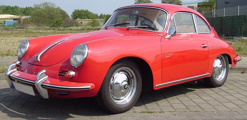 The Porsche 356 is the first production car to have rolled out of the