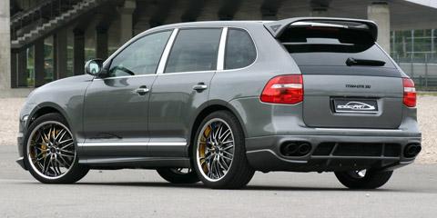 2009 SpeedART Titan DTR Porsche Cayenne Diesel back view 480
