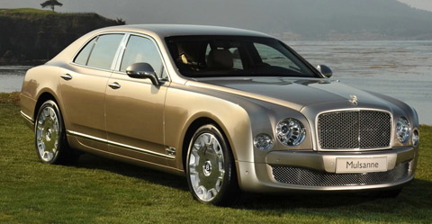 2010 Bentley Mulsanne 480