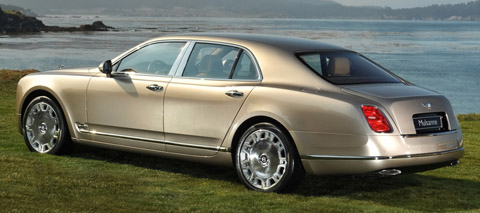 2010 Bentley Mulsanne back view 480