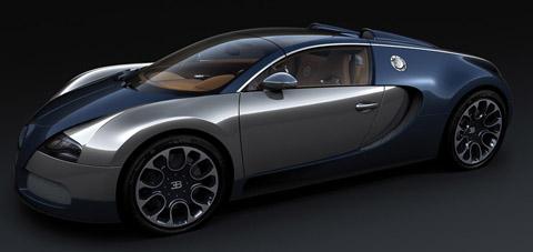 2010 Bugatti Veyron Sang Bleu front view 480