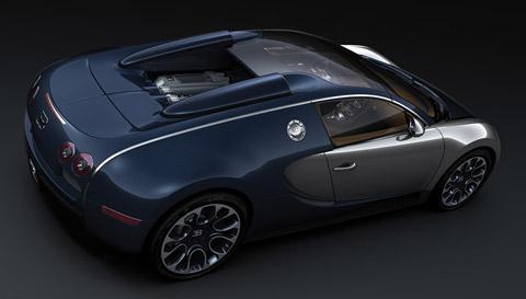 2010 Bugatti Veyron Sang Bleu