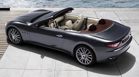2010 Maserati GranCabrio top view 480