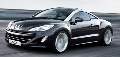 2010 Peugeot RCZ front side view