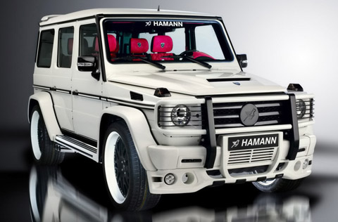 2009 HAMANN Mercedes-Benz AMG G55 Supercharged 480