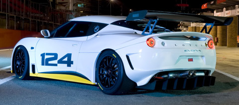 2010 Lotus Evora Type 124 back view 480
