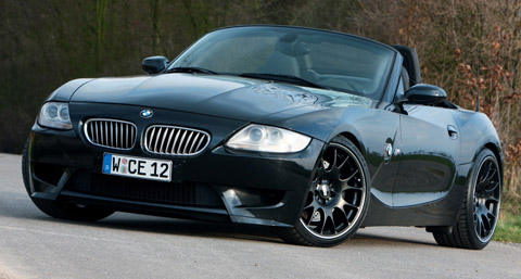 2010 Manhart Racing BMW Z4 V10 front view 480