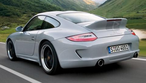 2010 Porsche 911 Sport Classic back view 480