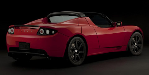 2010 Tesla Roadster Sport back view 480