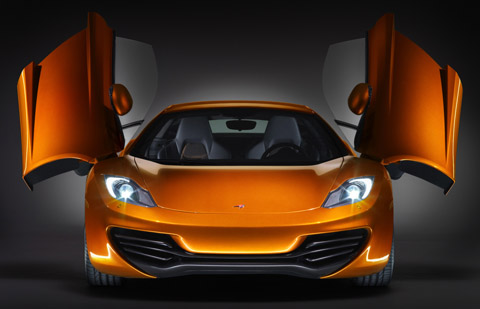 2011 McLaren MP4-12C front view480