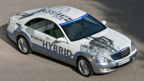 2009 Mercedes-Benz Vision S 500 Plug-In Hybrid 480