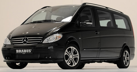 2010 Brabus Mercedes-Benz Viano Business Light Concept 480