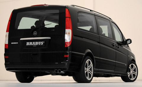 2010 Brabus Mercedes-Benz Viano Business Light Concept back 480
