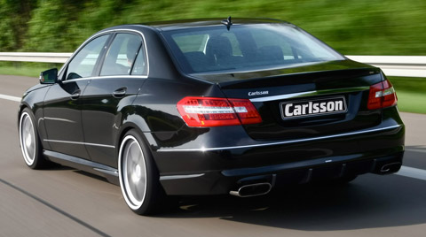 2010 Carlsson Mercedes-Benz E-CK63 RS back view