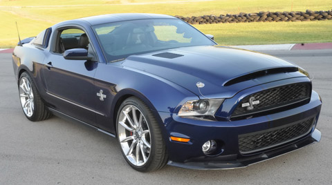 2010 Ford Shelby GT500 Super Snake 480