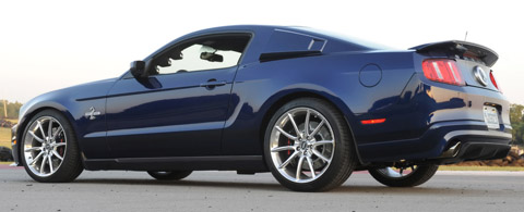 2010 Ford Shelby GT500 Super Snake back side view 480
