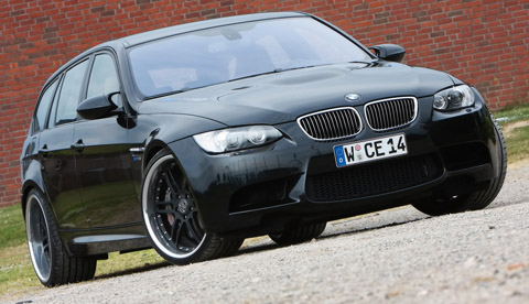 2010 Manhart Racing BMW M3 E91 V10 480