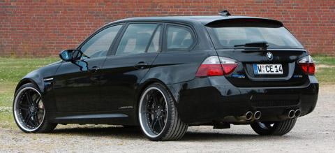 2010 Manhart Racing BMW M3 E91 V10 back view 480