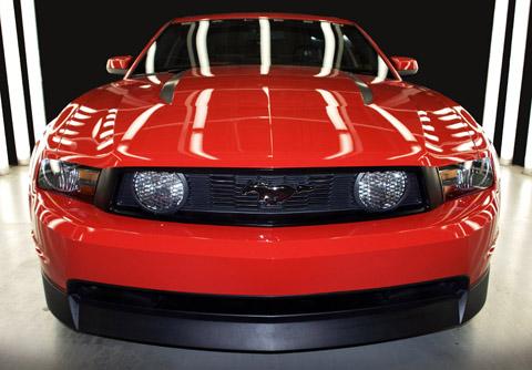 2010 Saleen 435S Mustang front view 480