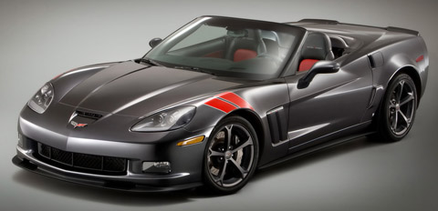 Accessorized Chevrolet Corvette Grand Sport - Heritage Package