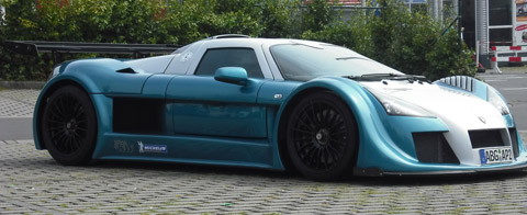 2009 Gumpert Apollo Sport Nurburgring Lap Record 480