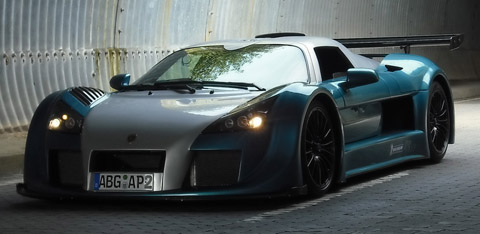 2009 Gumpert Apollo Sport Nurburgring Lap Record front view 480