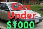 Used Cars Under 1000 Dollars